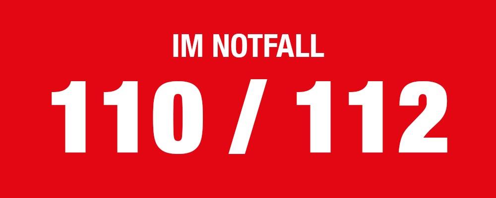 SELECTRIC Im Notfall 110 / 112