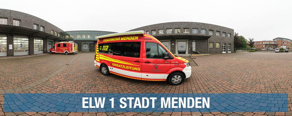 ELW 1 Stadt Menden